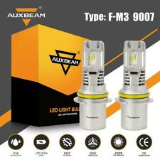 AUXBEAM 9007 HB5 50W LED Headlight Bulbs Kit High Low Beam 6500K Super Bright