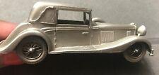 Danbury Mint Pewter Car - 1936 ALVIS SPEED 25