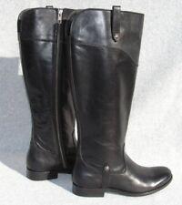 FRYE  'Melissa Tab' Knee High Boot Size 8 Extended Calf Black  MSRP  $428