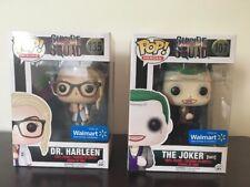 Funko Pop! Suicide Squad Dr. Harleen & The Joker (suit) Walmart Exclusives