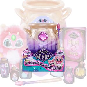 "Magic Mixies Magical Misting Cauldron w/ Interactive 8"" Pink Plush Toy PREORDER"