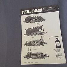 """700B 2 Feuilles """"Ancien Catalogue"""" Fleischmann 14 X 20"""