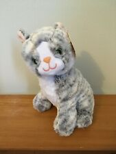 Melissa And Doug Greycie Gray Tabby Plush Cat 11 Inch