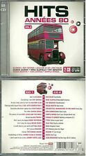 HITS 80 - ERASURE BRYAN FERRY MIKE OLDFIELD ( 2 CD ) NEUF EMBALLE - NEW & SEALED
