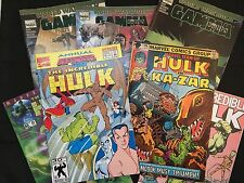 Hulk - Defenders - Kazar : 7 Comic Books Set