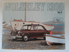 WOLSELEY 1300 MK.II SALOON orig 1968 UK Mkt Sales Brochure - #2586