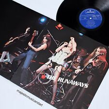 THE RUNAWAYS 1976 ORIGINAL GATEFOLD VINYL LP N.MINT JOAN JETT CHERIE CURRIE RARE