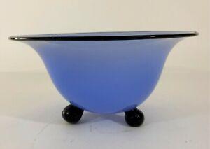 Rare Authenticated Loetz Art Deco Bowl Himmel Blau