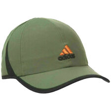 NEW! Adidas Mens Superlite Relaxed Adjustable Cap-Base Green/Black/Orange