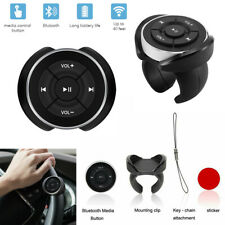 Universal Wireless Bluetooth Media Car Steering Wheel Remote Control Buttons