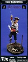 Verlinden 120mm 1:16 Charging Pirate Resin Figure Model Kit #1469
