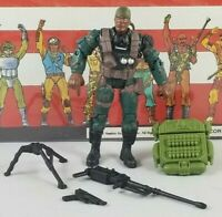Original 2002 GI JOE HEAVY DUTY V6 ARAH Complete UNBROKEN figure Two Pack