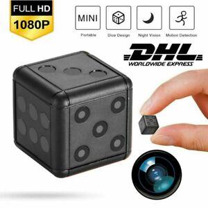 Mini Kamera 1080P HD Überwachungkamera Hidden Spion Camera Spycam NEU