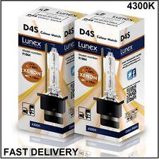 2 x D4S LUNEX XENON LÁMPARAS BOMBILLA compatible con XenEco 42402 Xenarc 4300K