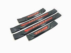 For Hyundai Sonata Accessories Door Sill Cover Scuff Plate Protector Sticker 20