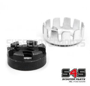 Clutch Castle Nut & Locking Washer Set Fits Vespa PX 125 150 200 COSA T5 LML
