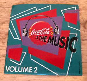 VGC Promo CD 1990s Coca Cola Is The Music Volume 2 Compilation Excellent