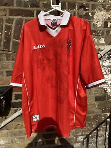 Wales Lotto Home Shirt Vintage