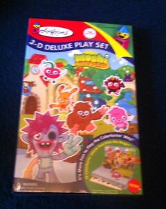 Moshi Monsters Colorforms 3D Deluxe Play Set**New**