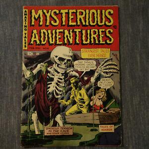 Mysterious Adventures #6 Pre-code Horror Feb 1952 Comics low grade (KF)