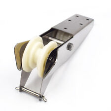 """12.9"""" Stainless Steel Hinged Self-Launching Bow Anchor Roller Bracket Wonderful"""