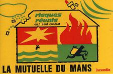 """Buvard-""""La MUTUELLE du MANS""""-Incendie-risques réunis en 1 seul contrat"""