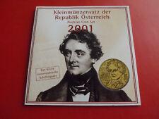 * Österreich KMS 2001(st) * 6 Münzen  (Ki.2)