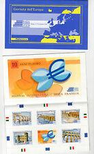 foglietto francobolli libretto giornata dell europa - 2009