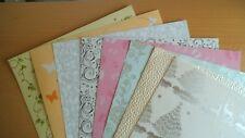 Kartenpapier in verschiedenen Motiven & Stärken 8 Blatt DIN A4 Set 2