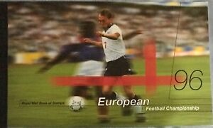 GB 1996 PRESTIGE STAMP BOOKLET EUROPEAN FOOTBALL CHAMPION Unmounted Mint Rarity
