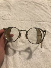 Vintage Glasses With Side Blockers