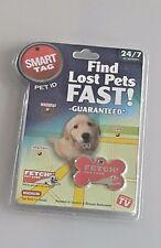 Smart tag find lost pets fast ID dog cat chip