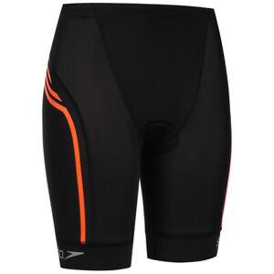 Speedo Comp 16 Triathlon Women's Sports Training Shorts 8-10480A870 Black New