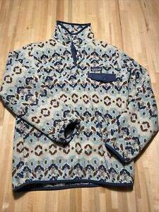 Women's PATAGONIA Synchilla Lightweight Snap-T Fleece Pullover Jacket Size L