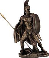 Leonidas the King of Sparta Cold Cast Bronze Statue /Sculpture 25cm / 9.84inches