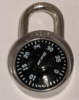 Master Lock Padlock 1500D Combination Dial Lock, 1-7/8in (48mm) Wide