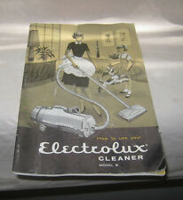 How To Use Your Electrolux Cleaner Model R 1960 A Manual 31 Pages Vacuum Cleaner