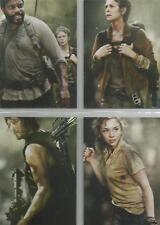 "The Walking Dead Season 4 Part 1 - ""Posters"" 4 Card Chase Set #D1-D4"