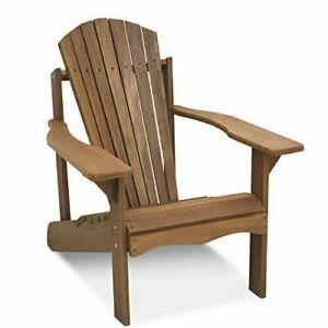 Furinno Tioman Teak Hardwood Adirondack Patio Chair FG16918