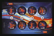 ** MNH mini sheet EURO VOLLEY Poland 2017 VOLLEYBALL STAMPS