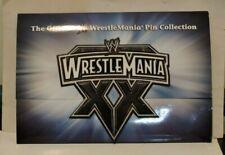 OFFICIAL WWE PIN COLLECTION WRESTLEMANIA XX 20 PIN SET