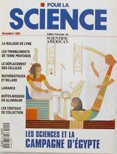 Pour la Science n°205 - 1994 - Les Sciences et l'Egypte - Maladie de Lyme -