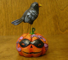 Jim Shore Heartwood Creek #4053868 PUMPKIN w/ CROW, From Retail Store, HALLOWEEN
