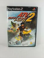 ATV Offroad Fury 2 (Sony PlayStation 2, 2002) Not for Resale Complete Tested