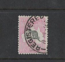1932 Australia Ten Shillings Roo SG 136 Wmk CofA Used
