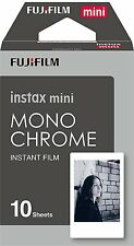 Fujifilm Instax Film mini Monochrome (10 Aufnahmen) - Schwarz Weiß Bilder - NEU