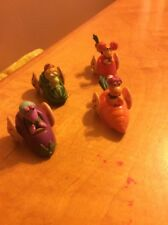 Pvc Fraggles Henson Cars Lot Of 4 C1