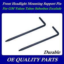 2X Headlight Lamp Mounting Retainer Pin Silverado Sierra 99- 42442 15845413