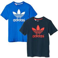 adidas Jungen-T-Shirts & -Polos mit Logo aus 100% Baumwolle