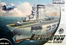MENG - BUQUE DE GUERRA Constructor Avión Transportador Lexington dibujos barco #